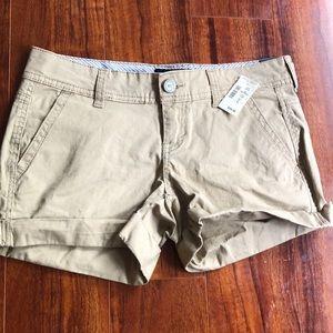 Midi kaki shorts